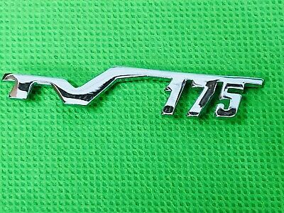Lambretta Tv175 Chrome Legshield Script Badge