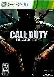 Call of Duty: Black Ops (Microsoft Xbox 360, 2010) DISC ONLY  FAST SHIPPING