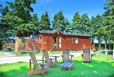 March Midweek Break in a Two Bed Family Chalet Hot-Tub Lodge at Rocklands Lodges