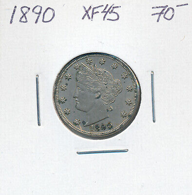 Usa 5 Cents 1890 - Xf+