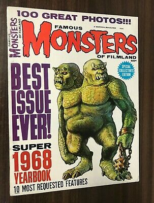 FAMOUS MONSTERS OF FILMLAND 1968 Yearbook -- VF- Or Better -- A