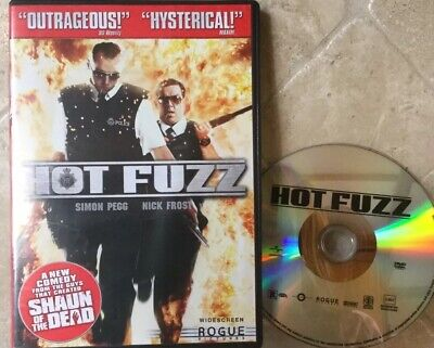 👀L@@K❗️Hot Fuzz (2007, Widescreen)  ***DISC ONLY*** NO CASE - MINT ~ FAST SHIP
