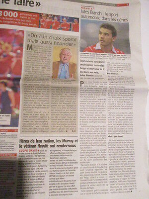 Journal Du Deces De : Jules Bianchi 20/07/2015