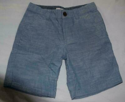 e4a94b70e6 Boys Cat & Jack Target Blue Flat Front Chino Shorts Cotton Casual Everyday  sz 10