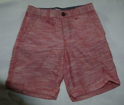 e30d297107dea Boy Cat & Jack Target Red Texture Flat Front Chino Shorts Cotton Blend  Casual 10