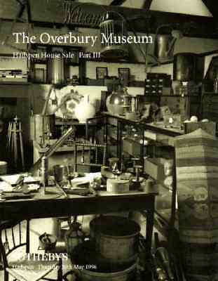 Sotheby's The Overbury Museum Collection , Hadspen