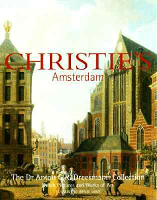 Christie's The Dr Anton C.r. Dreesmann Collection Dutch Pictures And Works
