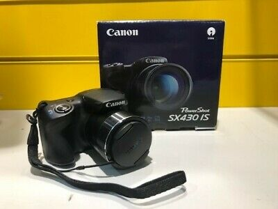 Camara Digital - Canon Power Shot Sx430 Is - 20.5 Megapixeles Wifi Negra Nueva