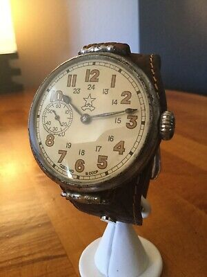 Kirovskie military commander 1947'S RARE USSR WWII wrist watch Moscow Factory!