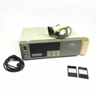 Minolta CA-100 High Luminance CRT Color Analyzer With Probe & Memory *Tested*