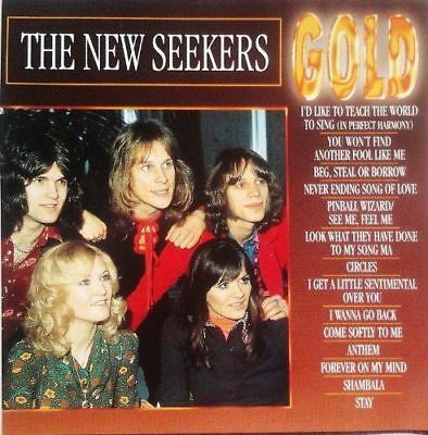 The New Seekers. Gold. CD. Compilation. Very Good Condition