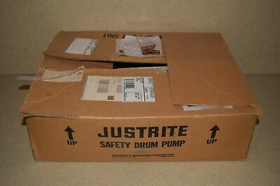 Justrite Safety Drum Pump -New In Box