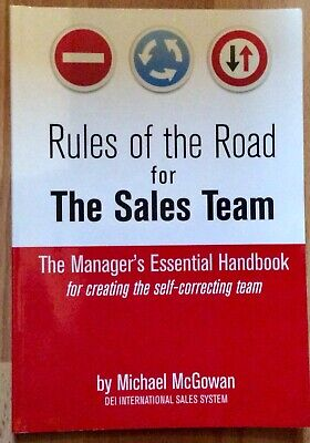 Rules of the Road for the Sales Team: The Man... by McGowan, Michael J Paperback