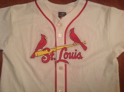 7b1a554fc ST. LOUIS CARDINALS David Freese Majestic Jersey Youth XL -  17.00 ...
