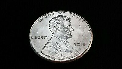 2018 D Lincoln Shield Cent ~ Uncirculated U.S. Mint Coin from Bank Roll