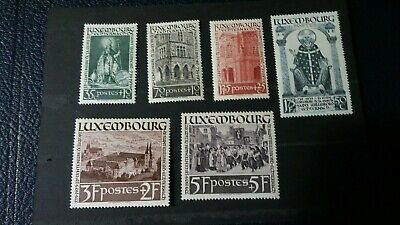 Luxembourg.  MH stamps from 1938.  19029