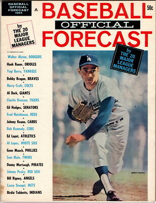 Baseball Official Forecast 1964, Vol 1 No 6,  NEAR MINT