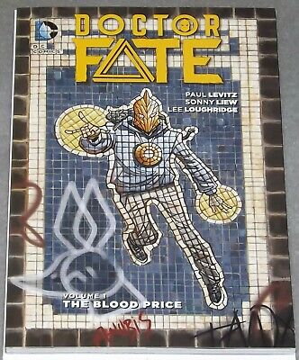 DOCTOR FATE VOL. 1 SC TPB The Blood Prince Trade Paperback Movie 2016 DC #comics