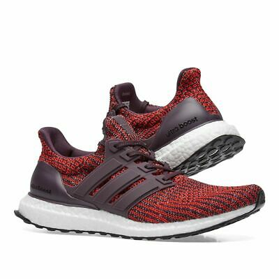 c597128a9a8 NEW Adidas Ultra Boost 4.0 Mens Running Shoes CP9248 Noble Red White  ULTRABOOST