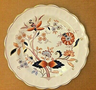 "Booths China Fresian A8022 10"" Plate Made In England"