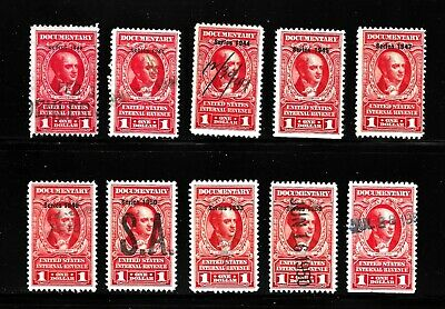 Hick Girl Stamp-Old Used  U.s. Documentary  Stamps     X7552