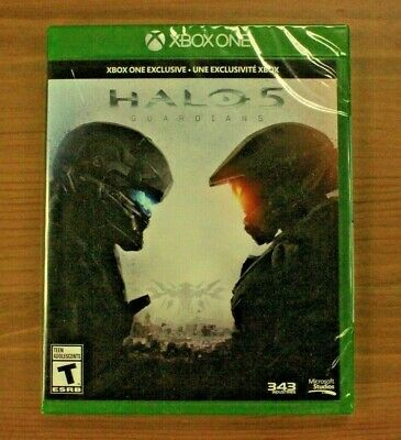 Halo 5: Guardians (Microsoft Xbox One, 2015) Brand New Factory Sealed