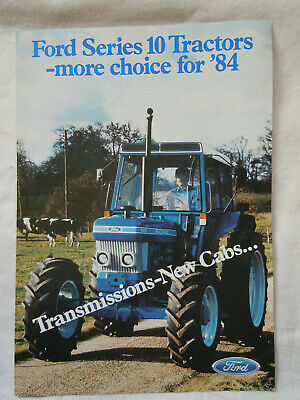 @Vintage Ford Series 10 Tractors-more choice for'84 Brochure@