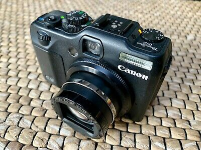 Canon PowerShot G12 10.0 MP Digitalkamera - Schwarz