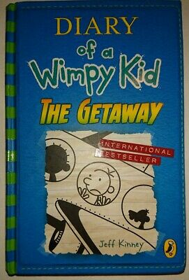 Diary of a Wimpy Kid: The Getaway by Jeff Kinney (2017, Hardcover)