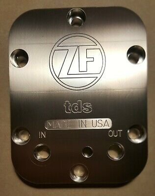 TDS - PTO Cooler Cover, ZF-650 transmission, 1/8 NPT, USA made!