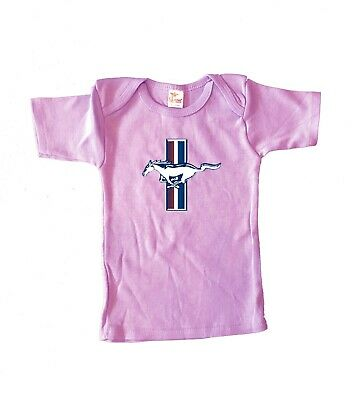 6-12 M Cute Funny Infant Tee Ford Mustang Pony Logo Baby Shower Gifts