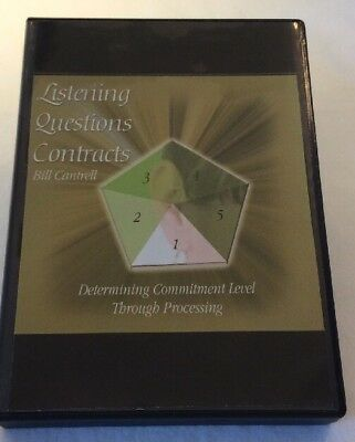 Listening Questions Contracts By Bill Cantrell 6 CD Set **Free Shipping**