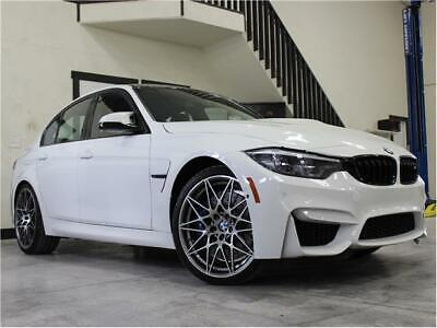 2018 M3 Competition 2018 BMW M3 Competition 5,200 Miles Alpine White 4dr Car Straight 6 Cylinder Eng