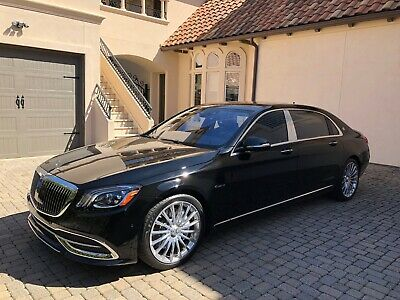 2019 Mercedes-Benz Maybach S 560 Maybach S 560 2019 Mercedes-Benz Maybach S 560, 4.0L V8 biturbo engine, AIRMATIC suspension
