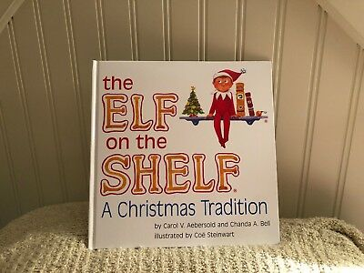 The Elf on the Shelf BOY ELF by Carol V. Aebersold and Chanda Bell BOOK ONLY