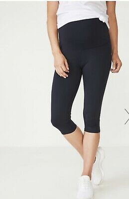 Cotton On Over The Bump Maternity Leggings, Sz S X 2 Pairs