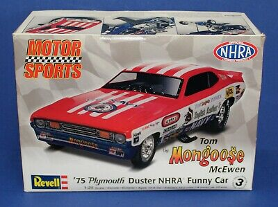 Sonstige Revell 1:25 Mongoose Plymouth Duster Funny Car Tom McEwen Model Kit