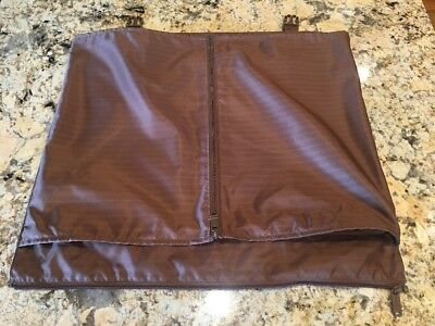 Tumi Luggage Insert With Zipper Compartment Brown
