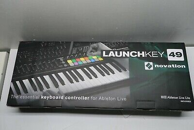 Novation Launchkey 49 USB Keyboard Controller for Ableton Live, 49-Note MK2 Vers