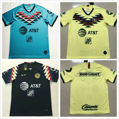 finest selection 5d8f5 ca1f9 NEW 2019-2020 CLUB America Home/Away Soccer Jersey Football shirt S-2XL