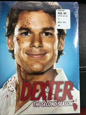 Dexter: The Second Season (2007, brand new, still in packaging)
