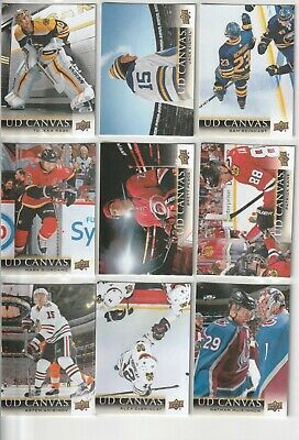 2018-19 Upper Deck Ud Canvas Series 1 - U-Pick From List