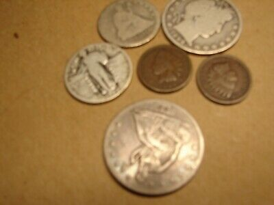 Old coin lot  $1.52 cents   6 total