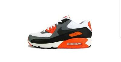 new products 5e14e 86237 NIKE AIR MAX 90 Essential. Men's Size 8 Sneakers. White/Cool Grey -  Orange-Black