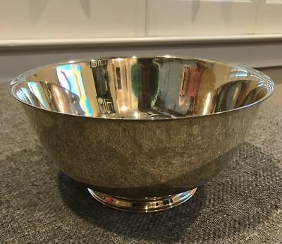 """Oneida Paul Revere Reproduction Silver Plated Bowl 13"""" VERY NICE CONDITION!"""