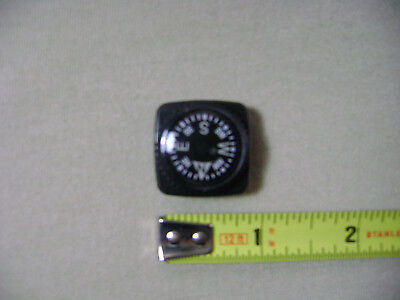 Glow in the Dark Compass for 20mm Watchband or Paracord Bracelet Type 3 (NEW)