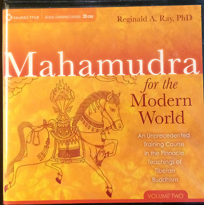 Mahamudra for the Modern World Volume Two ONLY on CD--Dr. Reginald A. Ray VG