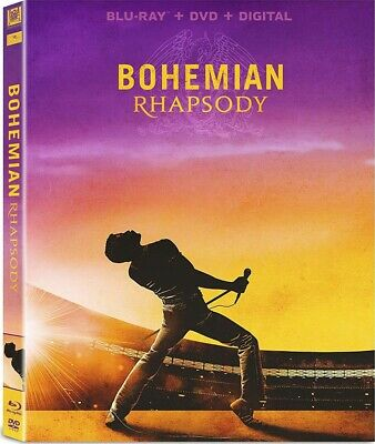 Bohemian Rhapsody (2019: Blu-Ray+DVD+Digital) Brand New, Free Shipping