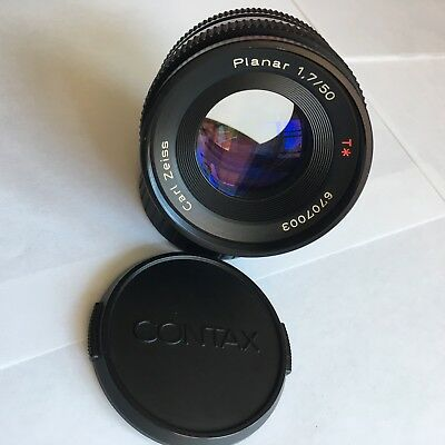 Contax Carl Zeiss Planar T* 1,7/50 for Contax/Yashica - Refurbished By Mark Hama