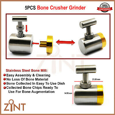 Bone Crusher Grafting Mill Grinder Implant Surgical Implant Augmentation Tools